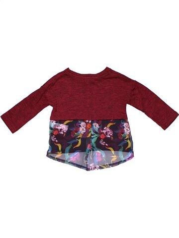 Long sleeve T-shirt girl RIVER ISLAND brown 6 months winter #18823_1
