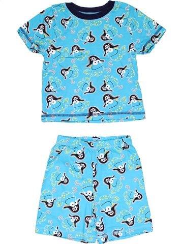 2 pieces Pyjama boy GEORGE blue 18 months summer #18993_1