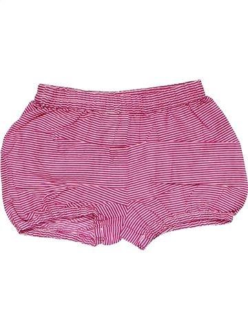 Short pants girl MONSOON pink 6 months summer #19650_1
