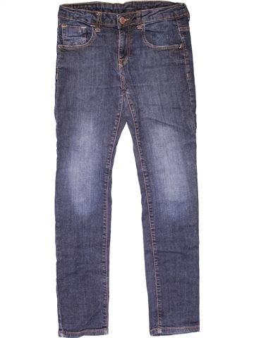 Jeans unisex ZARA blue 12 years winter #20262_1