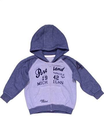 Sweatshirt boy REBEL blue 18 months winter #20306_1
