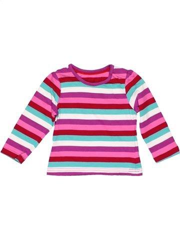 Long sleeve T-shirt girl MOTHERCARE pink 12 months winter #20376_1