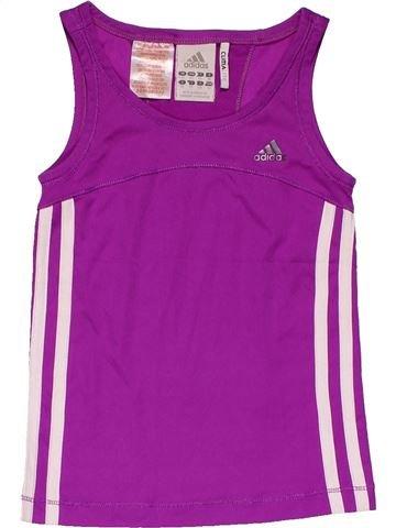 Sportswear girl ADIDAS purple 6 years summer #20901_1