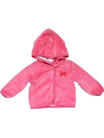Long sleeve T-shirt girl BABY CLUB pink 6 months winter #21229_1