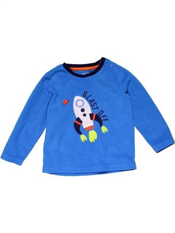 Long sleeve T-shirt boy PRIMARK blue 2 years winter #21254_1