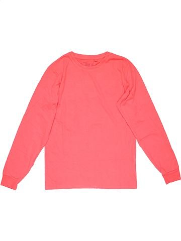 Long sleeve T-shirt unisex NEXT pink 11 years winter #21466_1