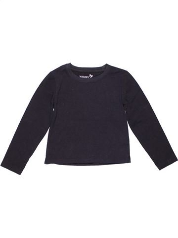 Long sleeve T-shirt girl YOUNG DIMENSION black 7 years summer #2156_1