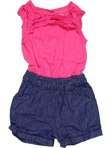 Dungaree girl BLUEZOO pink 18 months summer #21864_1