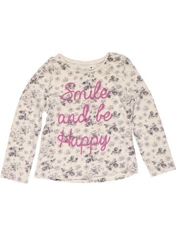 Long sleeve T-shirt girl PRIMARK white 3 years summer #22016_1