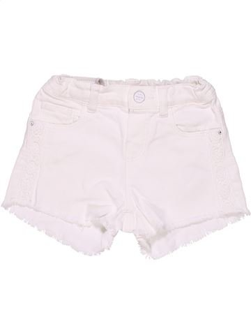 Pant skirt girl ZARA white 3 years summer #2235_1