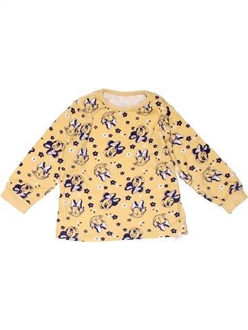 Long sleeve T-shirt girl GEORGE beige 9 months winter #22407_1