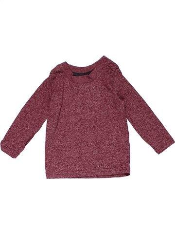 Long sleeve T-shirt boy PRIMARK purple 9 months winter #22435_1