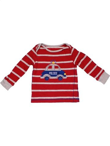 Long sleeve T-shirt boy MOTHERCARE red 12 months winter #22931_1