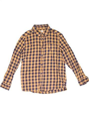 Long sleeve shirt boy ALIVE brown 10 years winter #22950_1