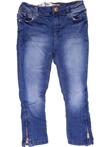 Jeans girl PRIMARK blue 4 years winter #23197_1