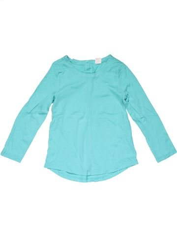 Long sleeve T-shirt girl BABY GAP blue 4 years summer #23223_1
