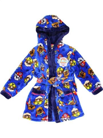 Dressing gown boy MATALAN blue 3 years winter #23542_1