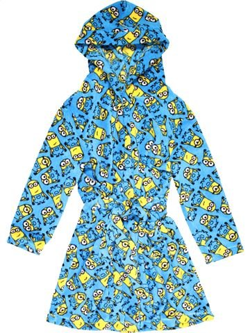 Dressing gown boy GEORGE blue 9 years winter #23555_1