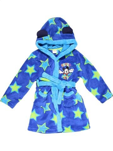Dressing gown boy DISNEY blue 4 years winter #23566_1