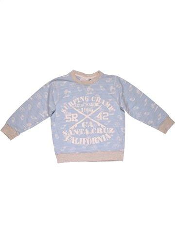 Sweatshirt girl MINI KIDS gray 6 years winter #23634_1