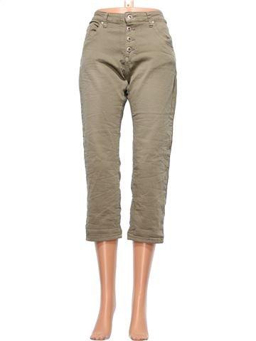 Cropped Trouser woman PLACE DU JOUR UK 8 (S) summer #23671_1