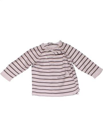 Long sleeve blouse girl R MINI white 9 months winter #23802_1
