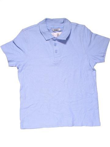 Short sleeve polo shirt boy PEP&CO blue 11 years summer #24055_1