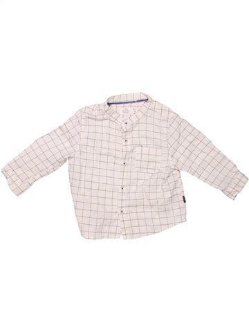 Long sleeve shirt boy ZARA white 6 months summer #240_1