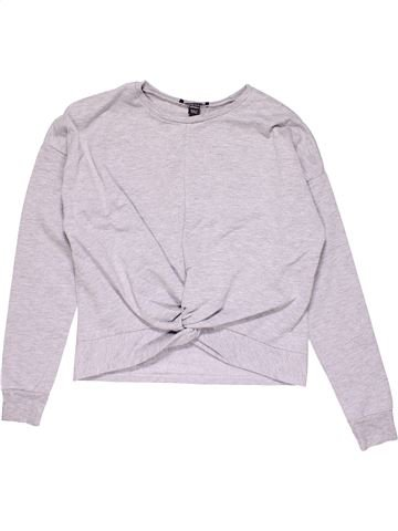 Sweatshirt girl NEW BALANCE white 13 years winter #24113_1