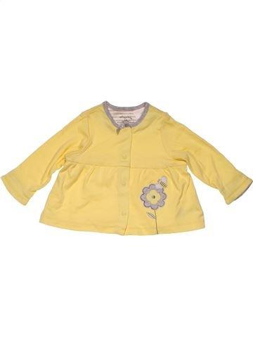 Sweatshirt girl OFFSPRING yellow 6 months winter #24149_1