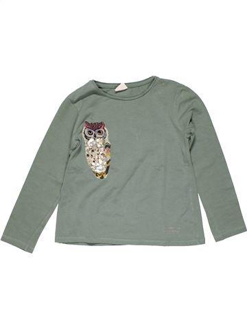 Long sleeve T-shirt girl ZARA gray 7 years winter #24187_1