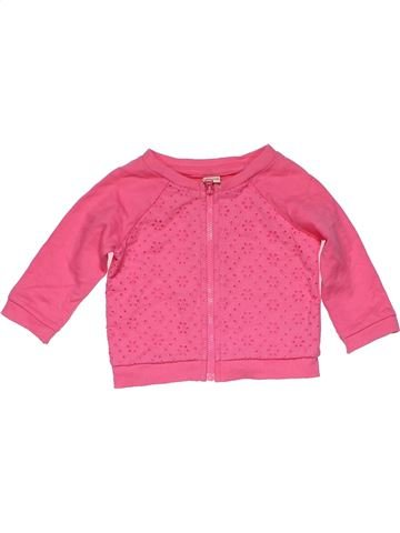 Sweatshirt girl CHEROKEE pink 6 months summer #24438_1