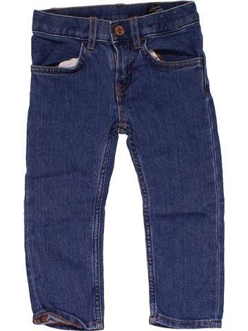Jeans boy DENIM blue 2 years summer #24591_1