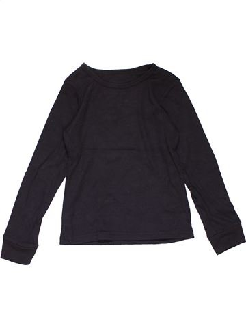 Long sleeve T-shirt girl PRIMARK dark blue 10 years winter #24699_1
