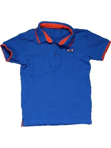 Short sleeve polo shirt boy MATALAN blue 4 years summer #24847_1