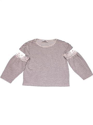 Long sleeve T-shirt girl MARKS & SPENCER gray 5 years summer #24992_1