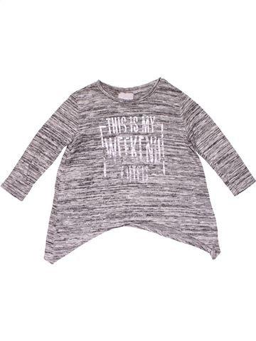 Long sleeve blouse girl MATALAN purple 4 years winter #25427_1