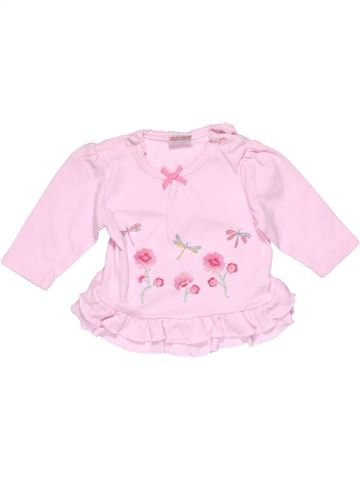 Long sleeve blouse girl CUTEYPIE pink 3 months winter #25469_1