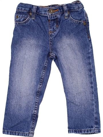 Jeans unisex BLUEZOO blue 2 years winter #2597_1