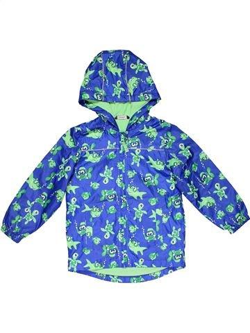 Jacket girl GEORGE blue 5 years winter #26102_1