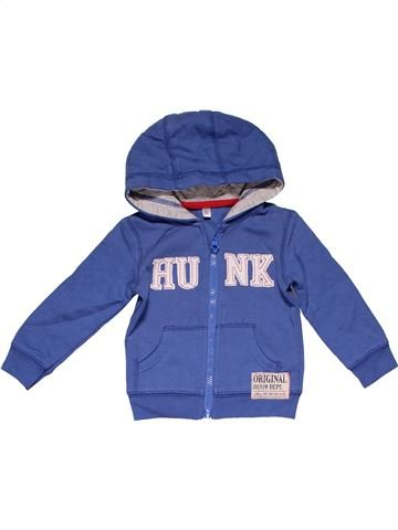 Sweatshirt boy NO BRAND purple 18 months winter #26164_1