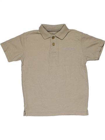 Short sleeve polo shirt boy SCOTT & FOX gray 5 years summer #26333_1