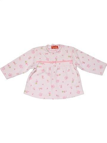Long sleeve blouse girl RAYDEL pink 12 months winter #26450_1
