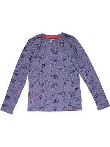 Long sleeve blouse boy HEMA purple 10 years winter #26508_1