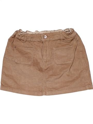 Skirt girl ZARA brown 10 years winter #26657_1