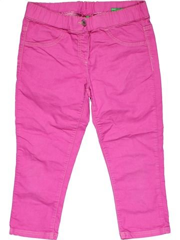 Leggings girl UNITED COLORS OF BENETTON pink 12 years summer #26680_1