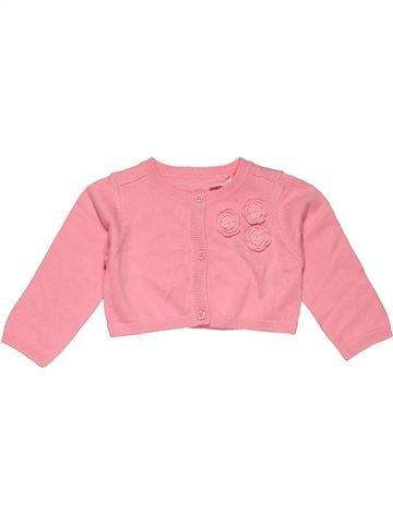 Jumper girl TU pink 6 months winter #26785_1