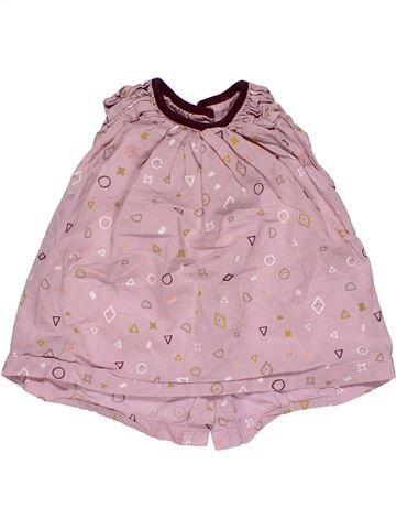 Short sleeve blouse girl MAMAS & PAPAS pink 9 months summer #26839_1