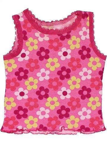 Tank Top girl MATALAN pink 6 months summer #26851_1