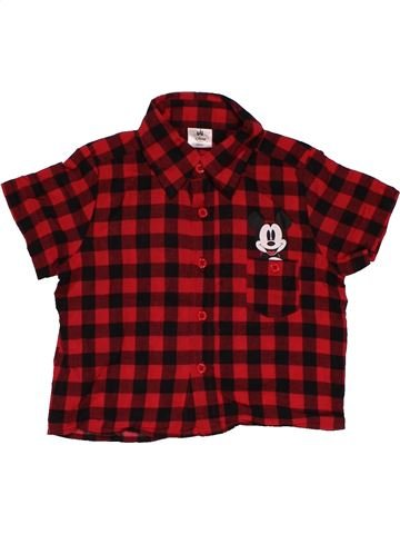 Short sleeve shirt boy DISNEY BABY purple 18 months summer #26909_1